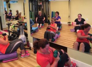 Step-n-Strength Class at Forever Fit studio with Nancy McNeil