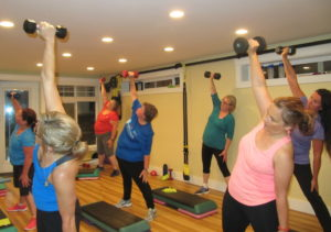 Step-n-Strength class, Forever Fit
