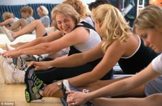 Ladies enjoying Stretch and Strength Fitness Classes at Forever Fit