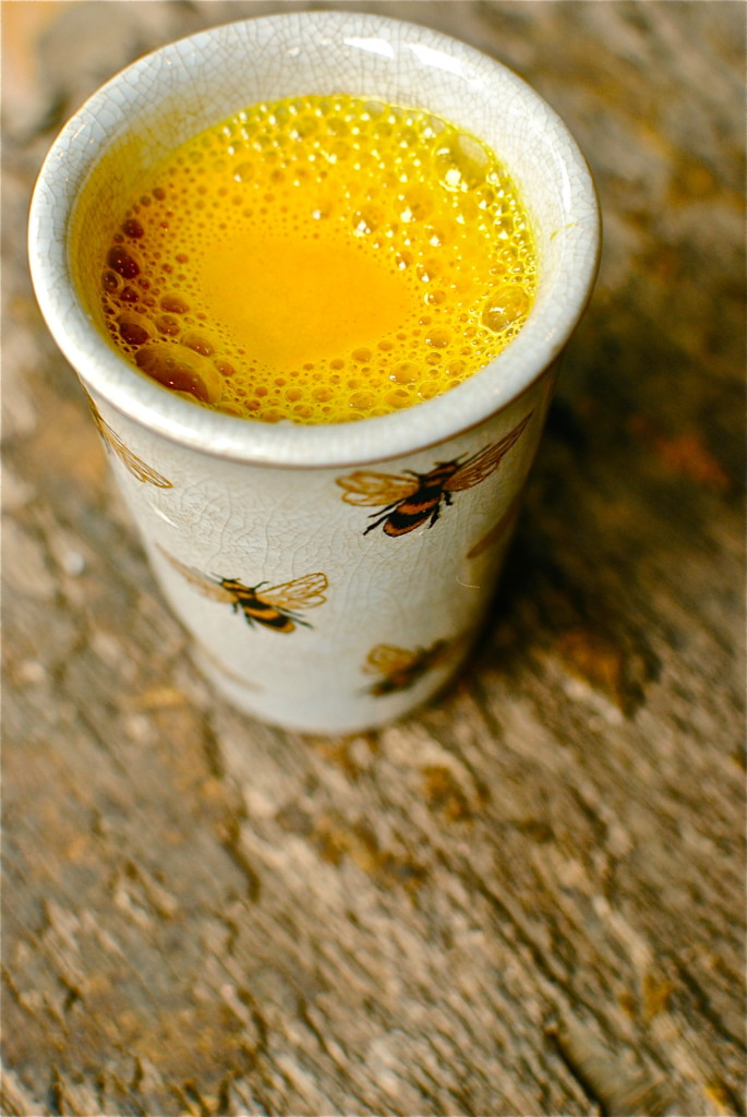 Golden Milk can help reduce inflammation and improve digestion. It taste good and may help you sleep better.