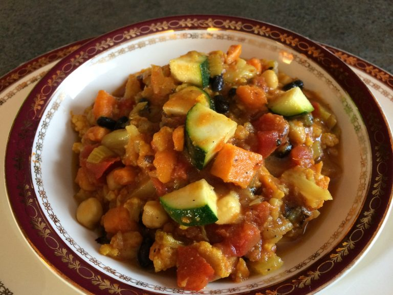 Moroccan Stew is a staple in our house. Amazing flavours, warm, nutritious and easy to make. Forever Fit, Duncan, BC
