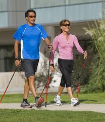Nordic Pole Walking is an inexpensive way to increase your fitness level and improve your core strength, range of motion, cardio and posture. Forever Fit, Duncan, BC.
