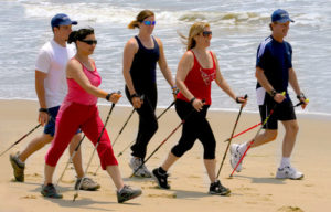 Nordic Walking for health, wellness, posture, weight loss, mobility ... and fun : ) Forever Fit, Cowichan Valley