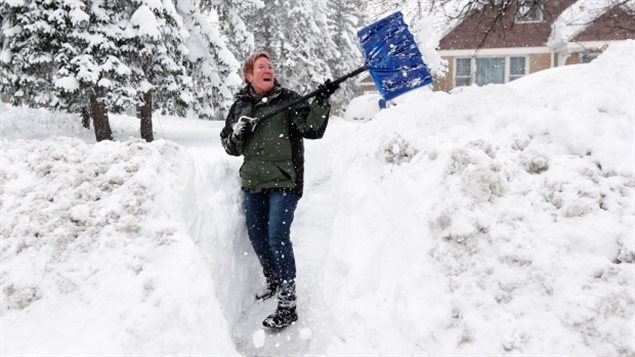 Preventing aches and pains from shovelling snow, Forever Fit, Duncan, BC