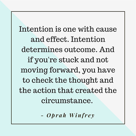 The power of intentions. What are yours for 2019? What are your life intentions? Forever Fit, Duncan, BC